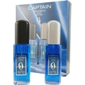 Captain Eau De Toilette Spray 2.5 oz & Aftershave Spray 2.5 oz for men by Molyneux