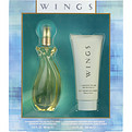 Wings Eau De Toilette Spray 3 oz & Body Lotion 3.4 oz for women by Giorgio Beverly Hills