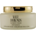 White Diamonds Body Cream 8.4 oz for women by Elizabeth Taylor