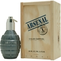 Arsenal Blue Eau De Parfum Spray 3.4 oz for men by Gilles Cantuel