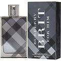 Burberry Brit Edt Spray 3.4 oz for men by Burberry