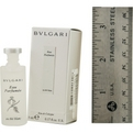 Bvlgari White Eau De Cologne .17 oz Mini for unisex by Bvlgari