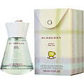 Baby Touch Eau De Toilette Alcohol Free Spray 3.3 oz for women by Burberry