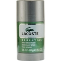 Lacoste Essential Deodorant Stick 2.4 oz for men by Lacoste