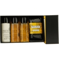 Citron Citron Travel Kit With Shower Wash 1.7 oz & Body Lotion 1.7 oz & Soap 3.5 oz & Shampoo 1.7 oz for unisex by Miller Harris