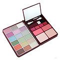 makeup kit g0139-1 : 18x eyeshadow, 2x blusher, 2x pressed powder, 4x lipgloss ---