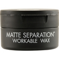 Bed Head Men Matte Separation Wax 2.6 oz for men by Tigi