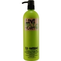 LOVE PEACE & THE PLANET Haircare von Tigi
