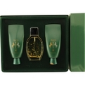 Jivago 24k Eau De Toilette Spray 3.4 oz & Body Lotion 6.7 oz & Shower Gel 6.7 oz for men by Jivago