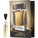 The One Eau De Toilette Vial On Card for men by Dolce & Gabbana