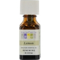Essential Oils Aura Cacia Lemon-Essential Oil .5 oz for unisex by Aura Cacia