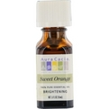 Essential Oils Aura Cacia Sweet Orange-Essential Oil .5 oz for unisex by Aura Cacia