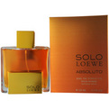 Solo Loewe Absoluto Eau De Toilette Spray 4.2 oz for men by Loewe