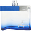 F By Ferragamo Free Time Eau De Toilette Spray 3.4 oz *Tester for men by Salvatore Ferragamo