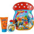 Smurfs 2 Piece Brainy Smurf Tin Can Set Includes Eau De Toilette Spray 1.7 oz & Bubble Bath 2.5 oz for unisex
