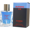 Burning Ice Edt Spray 3.4 oz for men by Iceberg