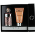 Eau De Rochas Sensuelle Edt Spray 3.4 oz & Body Lotion 5 oz for women by Rochas