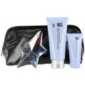 eau de parfum spray refillable .8 oz & shower gel 1 oz & body lotion 3.5 oz & cosmetic bag