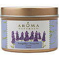 Tranquility Aromatherapy One 2.5x1.75 Inch Tin Soy  Aromatherapy Candle.  The Essential Oil Of Lavender Is Known For Its Calming And Healing Benefits.  Burns Approx. 15 Hrs. for unisex by Tranquility Aromatherapy