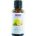 Essential Oils Now Lemon Oil 100% Organic 1 oz for unisex by Now Essential Oils