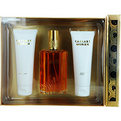 Caesars Cologne Spray 3.3 oz & Body Lotion 3.3 oz & Shower Gel  3.3 oz for women by Caesar's World