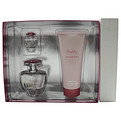 Pretty Eau De Parfum Spray 1.7 oz & Body Lotion 3.3 oz & Eau De Parfum .16 oz Mini for women by Elizabeth Arden