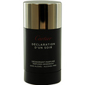 Declaration d'Un Soir Deodorant Stick Alcohol Free 2.5 oz for men by Cartier