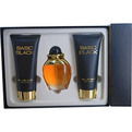 Basic Black Cologne Spray 3.4 oz & Body Lotion 6.8 oz & Hand Cream 6.8 oz for women by Bill Blass