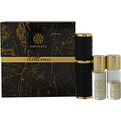 Amouage Gold Eau De Parfum Refillable Spray .33 0z And Two Eau De Parfum Refill .33 oz (Travel Size) for men by Amouage
