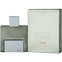 Solo Loewe Sport Eau De Toilette Spray 4.2 oz for men by Loewe