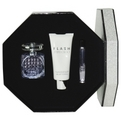 Jimmy Choo Flash Eau De Parfum Spray 3.3 oz & Body Lotion 3.3 oz & Eau De Parfum Roll On .33 oz Mini for women by Jimmy Choo