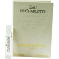 Eau De Charlotte Eau De Toilette Vial On Card (New Packaging) for women by Annick Goutal
