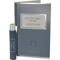 Gentlemen Only Eau De Toilette Spray Vial On Card for men by Givenchy