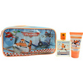 Planes Eau De Toilette Spray 1.7 oz & Shower Gel 1.7 oz & Toiletry Bag for unisex by Disney