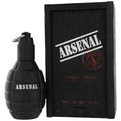 ARSENAL BLACK Cologne par Gilles Cantuel