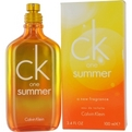 CK ONE SUMMER Fragrance poolt Calvin Klein