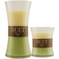 KIWI APPLE & WARM VANILLA SCENTED Candles z KIWI APPLE & WARM VANILLA SCENTED