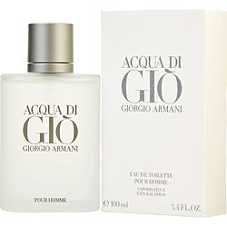 Acqua Di Gio Eau De Toilette Spray 3.4 oz by Giorgio Armani