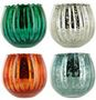 FLUTED MERCURY BOWL Candles por